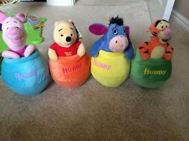 Winnie the Pooh toys NEW
