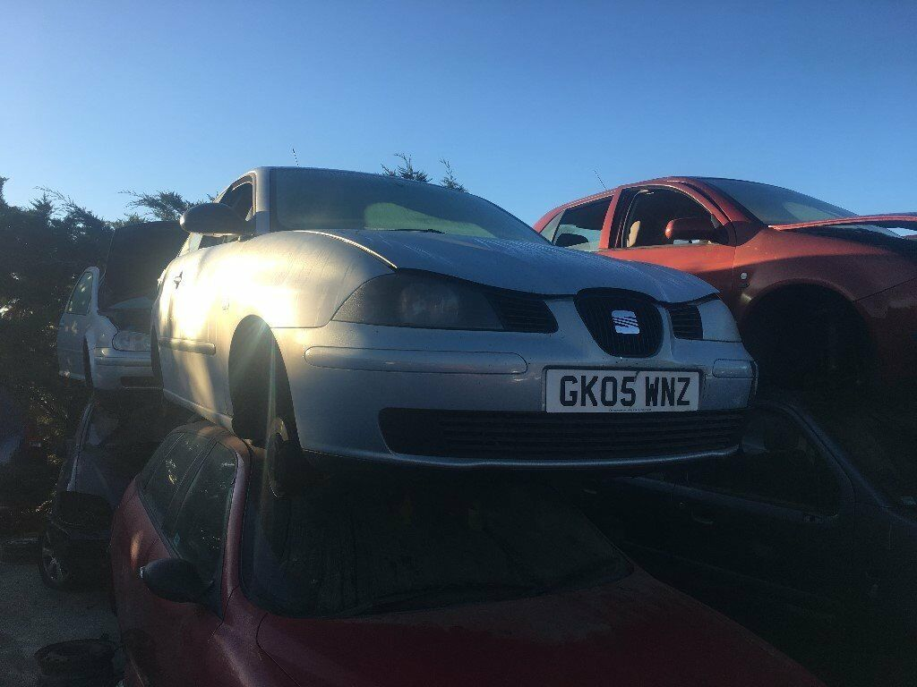 2005 SEAT IBIZA REFERENCE (MANUAL PETROL)FOR PARTS ONLY