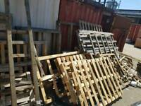 Pallets. Cable drums FREE