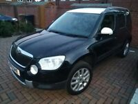 2012 Skoda Yeti 4X4 TDI with Leather interior