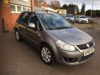 2006 Suzuki SX4 1.6 5 door 12 months mot/3 months parts and labour warranty