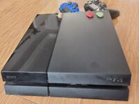 PlayStation 4 500GB with 2 controllers