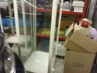 2nd hand glass display cabinet.