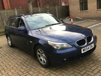 NEWER SHAPE BMW 525D 2.5 5 SERIES SE DIESEL MANUAL TOURING ESTATE FULL SERVICE TOW BAR N 520 530 X5