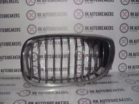 BMW 3 SERIES N/S KIDNEY GRILL E46 COUPE 7064317 REF 1639