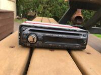Sony drive s MP3 wma cd radio head unit aux
