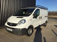 2007 (57) Vauxhall Vivaro 2.0 CDTi 2700 Panel Van 4dr (EU4, SWB) Rhino Roof Rack, Finance Available