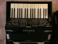 Hohner Tango 1 Accordion - works but bellows needs repairing