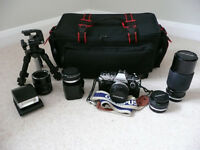Olympus OM10 and Accessories