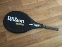 Wilson Europa tennis racket - unused.
