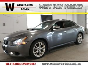 2014 Nissan Maxima SV| LEATHER| BACKUP CAM| SUNROOF| 86,595KMS