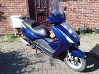 2005 Honda FES Pantheon 125 maxi scooter, runs well, good condition, use on CBT, ride away ,,,,