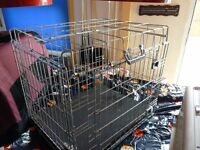 MEDIUM DOG CAGE, NEW, BARGAIN £20, CAN DELIVER