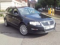VOLKS PASSAT HIGHLINE ESTATE 20TDI//09PLATE.126,000 MIL.FSH