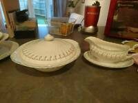 Dreamland by Johnson Bros Completer Set and Serving Plates/Bowls