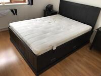 Ikea Hemnes Double bed with draws