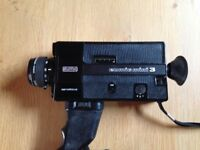 Eumig mini 3 super 8 approx 50 years old collectors item