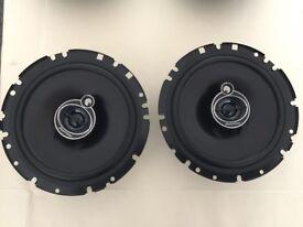 Pioneer Car Stereo Speakers 17cm three-way + 2 (free!) woofers