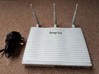 Draytek Vigor 2820n 4-Port Gigabit ADSL2+ Security Firewall