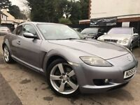 Mazda RX-8 1.3 192 PS Full Service History 12 Months MOT Just Been Serviced Leather Seats