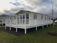 * Lakeside * Luxury lakeside caravan for sale, Decking included, New development, Haggerston Castle