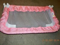 Safety 1st Compact Fold Portable Bedrail-Pink