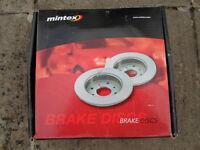 Mintex Front Brake Discs Ford Transit