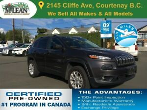2015 Jeep Cherokee North Edition 4x4 Heated Seats Remote Start