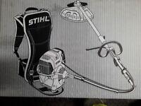 Stihl backpack strimmer