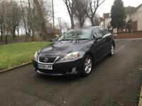 2009 LEXUS IS 220D SE 2.2 DIESEL SALOON **12 MONTHS MOT + DRIVES SUPERB + FULL SERVICE HISTORY**