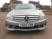 Mercedes Benz C220 CDI Sport Amg Auto Automatic 2009 Gray