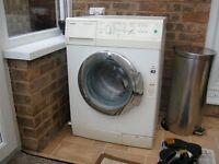 Sieman Washing Machine. New door seal and reconditioned motor..