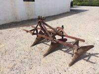 Ferguson drill plough.