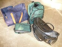 SELECTION OF HOLDALLS