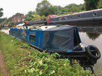 Narrowboat, narrow boat, canal boat, river cruiser, 45ft, BMC 1800 engine