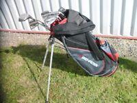 Ben Ross Stand Golf bag with Power built TPS70 clubs