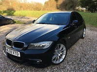 2009 BMW 320D M SPORT BUSINESS EDITION, I DRIVE, LCI, LOW MILEAGE, LEATHER, RARE EXAMPLE