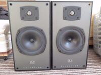 Celestion DL8 Series Two speakers 150 Watt Black finish, very capable, great sounding speakers.