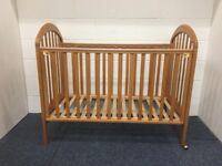 Cosatto Drop Side Wooden Cot- 60x120cm