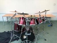 Pearl drum kit 7 piece