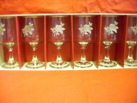 Dema 6 Small Wine Glasses