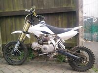 Slam mxr 125cc pitbike pit dirt bike crosser mx not 90, 110, 140, 150cc stomp m2r wpb crf50 £420