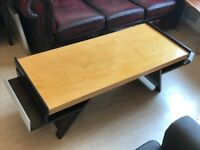 Beautiful wooden coffee table for sale!