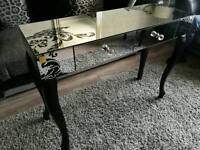 Mirrored consol / dressing table LLB