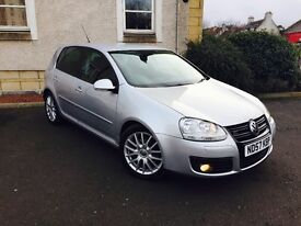 VOLKSWAGEN GOLF 2.0 GT DTI 140 SPORT 57 PLATE LOW MILEAGE AND FULL SERVICE HISTORY MINT CONDITION