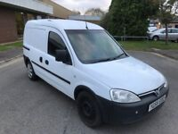 2006 Vauxhall combo 1.7 cdti twin slide load door 12 months mot/3 months parts and labour warranty