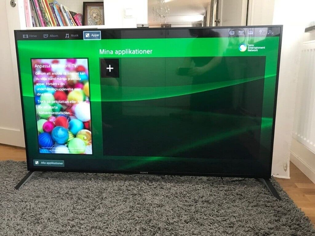 Sony BRAVIA 49 inch 4K Ultra HD 3D LED Smart TV Freeview HD,Built-in camera  ,Delivery | in Bromley, London | Gumtree