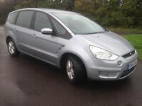 FORD S-MAX ZETEC TDCI 1.8 DIESEL,2007,7 SEATER,MOT 12 MONTHS,£2995!