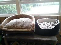 two dogs beds