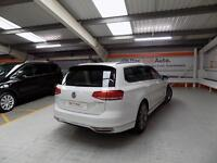 Volkswagen Passat R LINE TDI BLUEMOTION TECH 4MOTION DSG (white) 2017-03-31